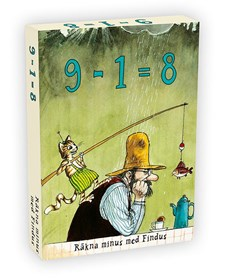 Findus 9-1 = 8 (minus)