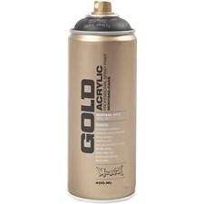 Sprayfärg Montana Gold 400 ml Svart