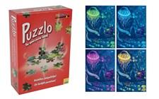 Puzzlo, speed-puzzle game, Undervattenmotiv, 60 bitar