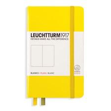 LT NOTEBOOK A6 Hard lemon 185 p. plain