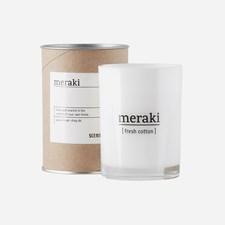 Meraki Doftljus Fresh Cotton H: 10.5 cm