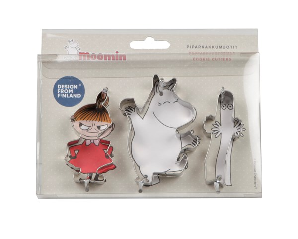 Pepperkakeformer, 3-pack, Mummi