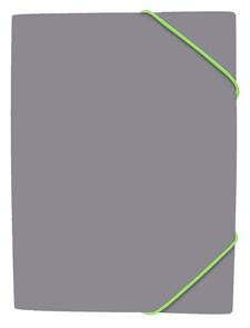 Gummibandsmapp Grey