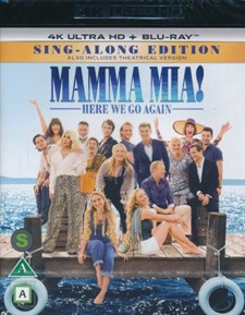Mamma Mia! Here We Go Again  - 4K Ultra HD Blu-ray