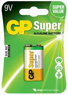 Batterier Alkalisk 9V 1 st