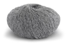 Knit At Home Superfine Alpacka Merino Garn Ullmix 50 g Grå Melange 103