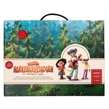 Klatremus str 8-12 år Garnkit, Dale Garn originale strikkeplagg til Dyrene i Hakkebakkeskogen