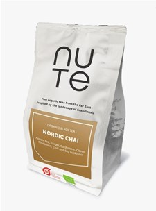 NUTE Te Black Nordic Chai 100 g Ekologisk
