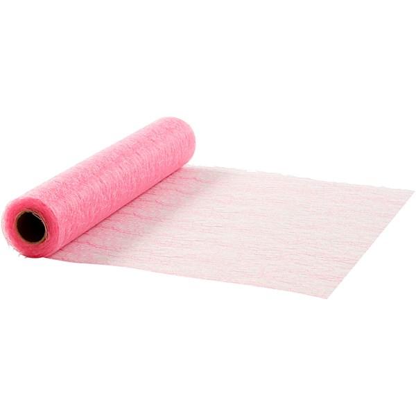 Bordløper, B: 30 cm, 10 m, rosa