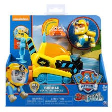 Rubble's Sea patrol vehicle with bonus friend, Sea Patrol,  Paw Patrol