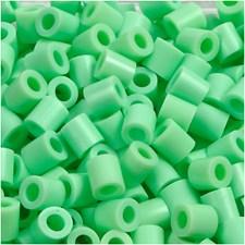 Putkihelmet, koko 5x5 mm, aukon koko 2,5 mm, 6000 kpl, vihr.pastelli