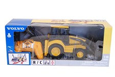 Radiostyrd Traktor, Volvo, Gul & Svart
