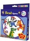 Rörpärlor och pärlplatta Djungeldjurstema Playbox