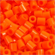 Fotohelmet, koko 5x5 mm, aukon koko 2,5 mm, 6000 kpl, kirkas oranssi (13)