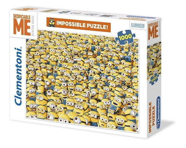 Minions Impossible Puzzle, 1000 bitar