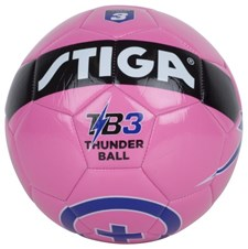 Fotboll, Strl 3 Rosa, Thunder Ball, Stiga
