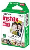 Kamera + 10-pack Film Instax Mini 9 Ice Blue
