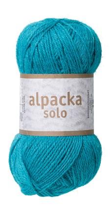Alpacka Solo Ullgarn 50g Turkos (29116)