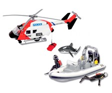 Sea rescue team, Dickie toys