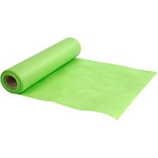 Bordløper av imitert stoff, B: 35 cm, 70 g/m2, 10 m, lime