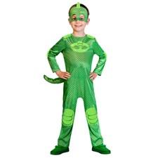 Maskeraddräkt Gecko, 2-3 år, Pyjamashjältarna