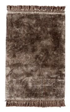 Nordal Noble Matta 100% Viskos 75 x 200 cm Brun