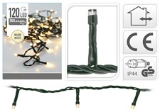 Ljusslinga LED, 9m, Varm Vit, IP44 Utomhus