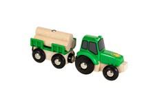 Traktor med last, Brio Träjärnväg