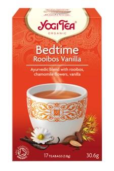 Yogi Tea Bedtime Rooibos Vanilla Tepåsar 17 st Eko