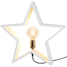 Star Trading Stjärna Lysekil E27 50x10x48 cm Vit