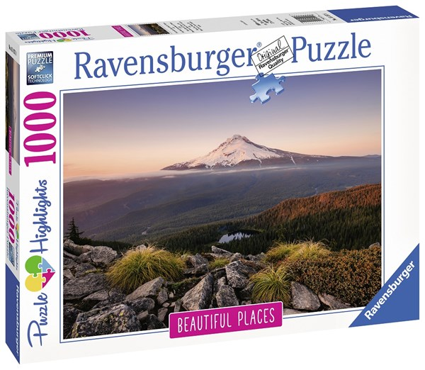 Mount Hood - Oregon USA, Pussel 1000 bitar, Ravensburger