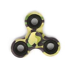 Fidget Spinner, Camouflage Grön