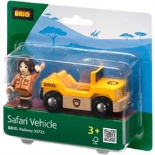 Safariauto ja kuljettaja, Brio-puurautatie
