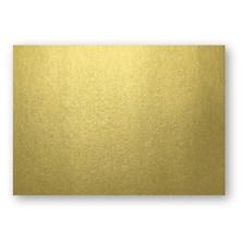 Kort Enkla Papperix A6 Guld 10-Pack