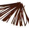 Piprensare, tjocklek 6 mm, L: 30 cm, 50 st., brun