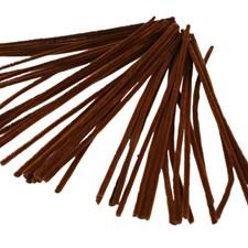 Piperensere, tykkelse 6 mm, L: 30 cm, 50 stk., brun