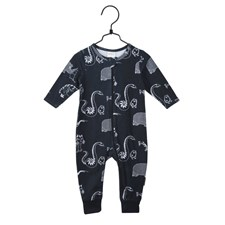 Pyjamas Djungel, Grå, strl 74, Mumin