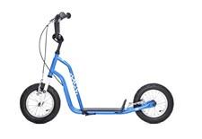 Yedoo Three, Blå, Sparkesykkel med lufthjul