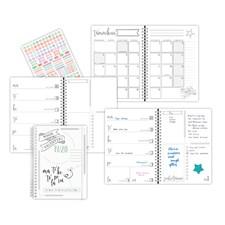 Kalenteri 19/20 Burde Scribble II A5