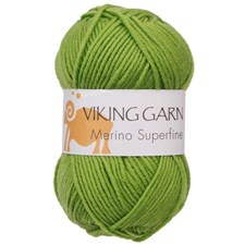Viking of Norway Merino Superfine 50 gr omenanvihreä