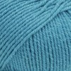Drops, Cotton Merino Uni Colour, Garn, Ullmiks, 50 g, Turkis 24