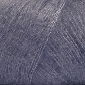 Drops Kid- Silk Uni Color Garn Mohair Silke 25 g lila 11