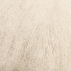 Drops Brushed Alpaca Silk Uni ColourGarn 25 g natur 01