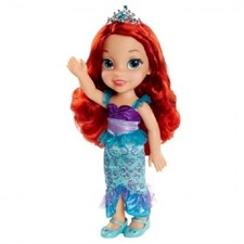 Toddler Doll 38 cm, Ariel, Disney Princess