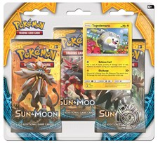 Poke Blister, 3-pack, Sun & Moon 1, Togedemaru, Pokémon