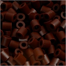 Putkihelmet, koko 5x5 mm, aukon koko 2,5 mm, 1100 kpl, ruskea (3)