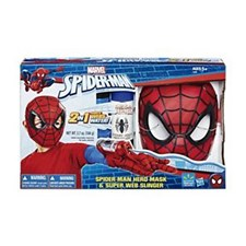 Spiderman Hero Mask 'n Super Web Slinger