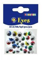 Øyne med øyenvipper, Dekorasjon, Playbox