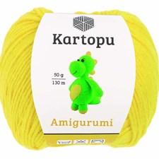 Kartopu Amigurumi 50g Yellow K330