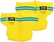 Armringar, gul, 15-30 kg